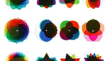 COLOURING Color Wheel Puzzle