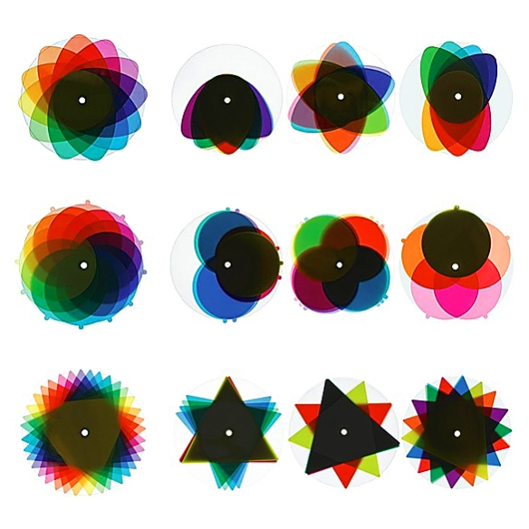 Diskiness Color Wheels by Brigitta and Benedikt Martig-Imhof for Taet-Tat