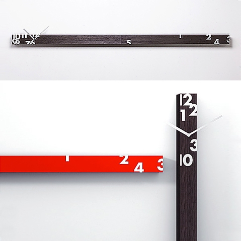Iltempostringe Clock by Alberto Sala for Progetti