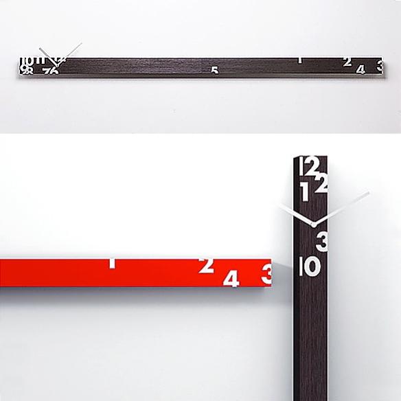 Iltempostringe Clock by Alberto Sala for Progetti