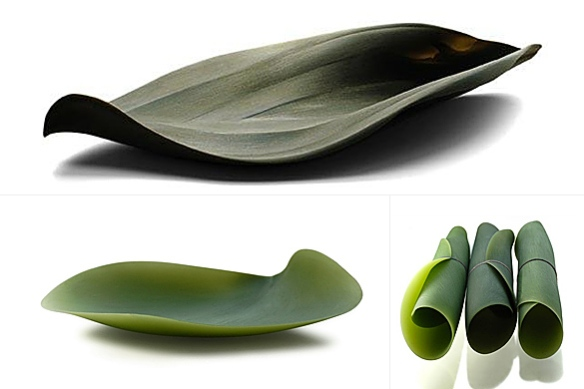 Seasons Serving Dishes by Nao Tamura for Covo