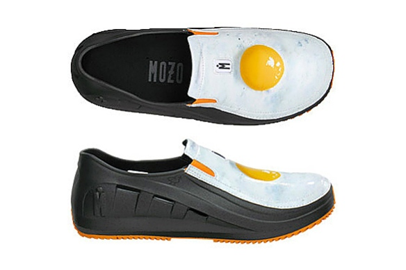 Sharkz Egg Shoes for Chefs by MOZO