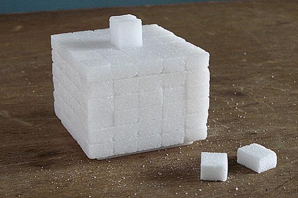 Sugar Cube -- Sugar Pot by Chris Kabel for Invotis Orange