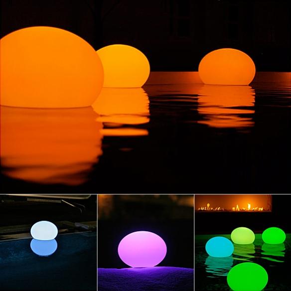 Flat Ball LED Light by Artkalia