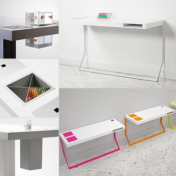 Mini MILK Desk by Søren Rose
