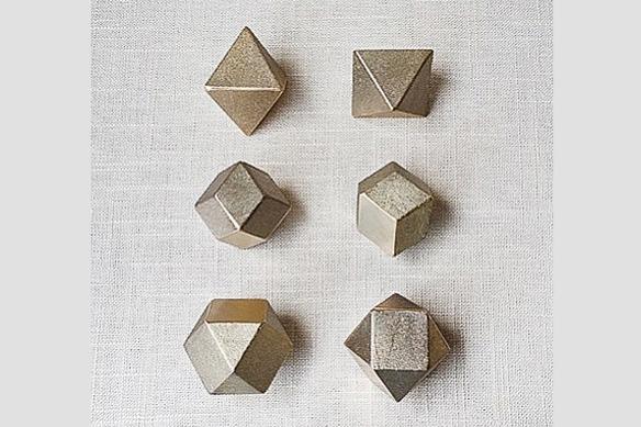 Polyhedron Paperweight by Oji Masanori and Futagami