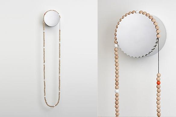 Sasa Clock by Thorunn Arnadottir for Daniel Estes Designs