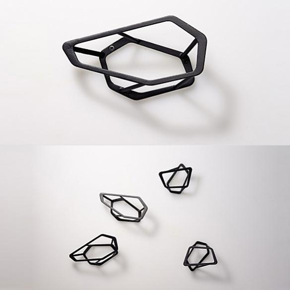 Sprinkle Wall Hook by Jin Kuramoto for Naft Design
