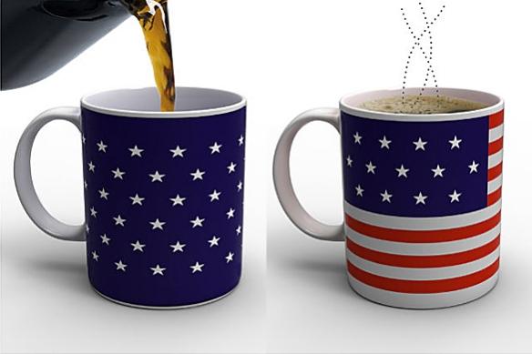 Stars and Stripes Mug by Damian O'Sullivan