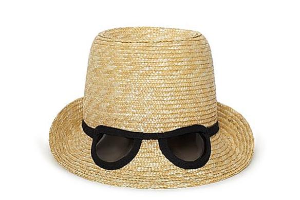 Cat Eye Sunglasses Hat by Kate Spade