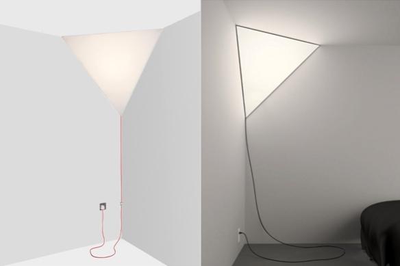 Corner Light by Peter Bristol for Established & Sons