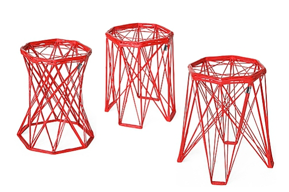 Nido Stools by Eva Marguerre and Marcel Besau