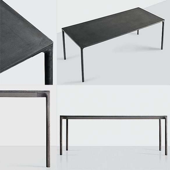 Boiacca Table by LucidiPevere for Kristalia