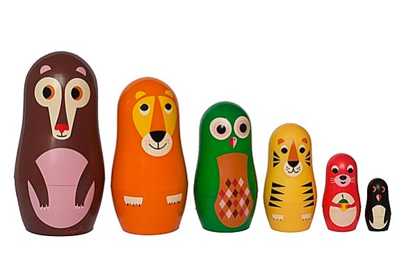 Studio Matryoshka Nesting Dolls by Ingela P Arrhenius for OMM Design