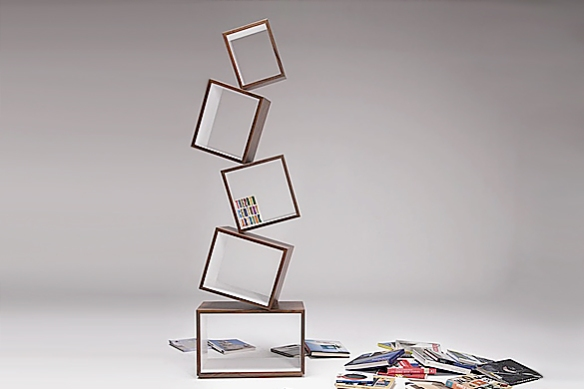 Equilibrium Bookcase by Alejandro Gomez Stubbs for Malagana Design