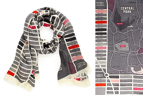 GIRL ABOUT TOWN Scarf by Kate Spade
