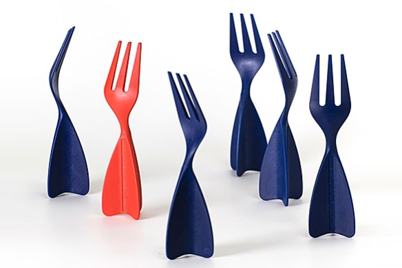 Kiss Forks by Errin Kancal