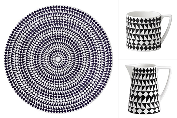 Mosaic Fine Bone China Collection by Jasper Conran for Wedgwood