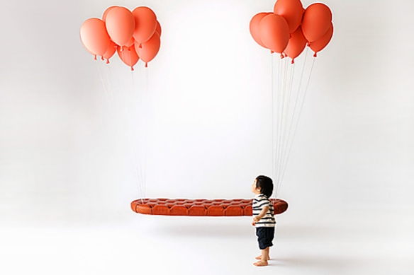 Balloon Bench by Satoshi Itasaka of h220430