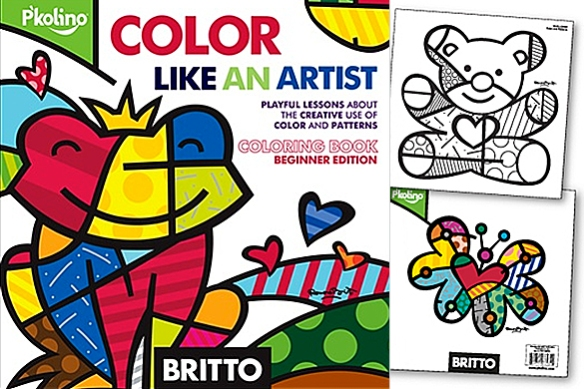 Color Like an Artist -- Coloring Book by Romero Britto