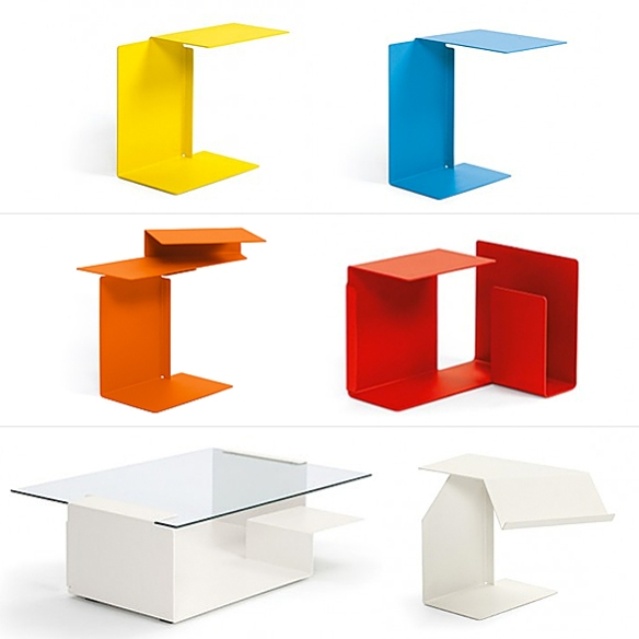 Diana A–F Tables by Konstantin Grcic for ClassiCon