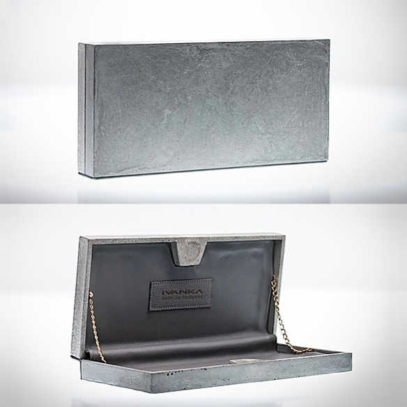 Genezis NR1 Concrete Clutch by Ivanka