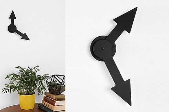 LITTLE BIG TIME ARROW Wall Clock by Boxtel&Buijs for Karlsson