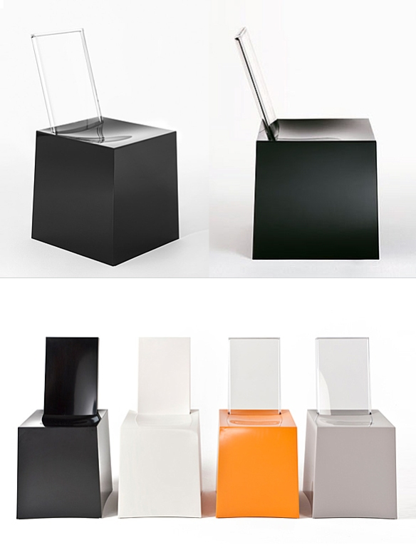 Miss Less Chair by Philippe Starck and Eugeni Quitllet for Kartell