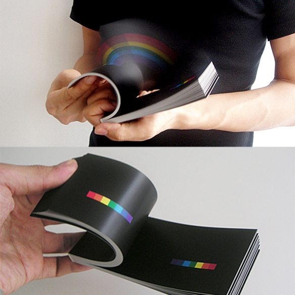 RAINBOW IN YOUR HAND Flipbook by Masashi Kawamura