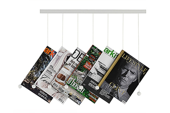 Riddle Magazine Hanger by Isaac Chen for Swedese