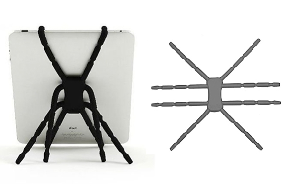 Spiderpodium Tablet Stand by Breffo