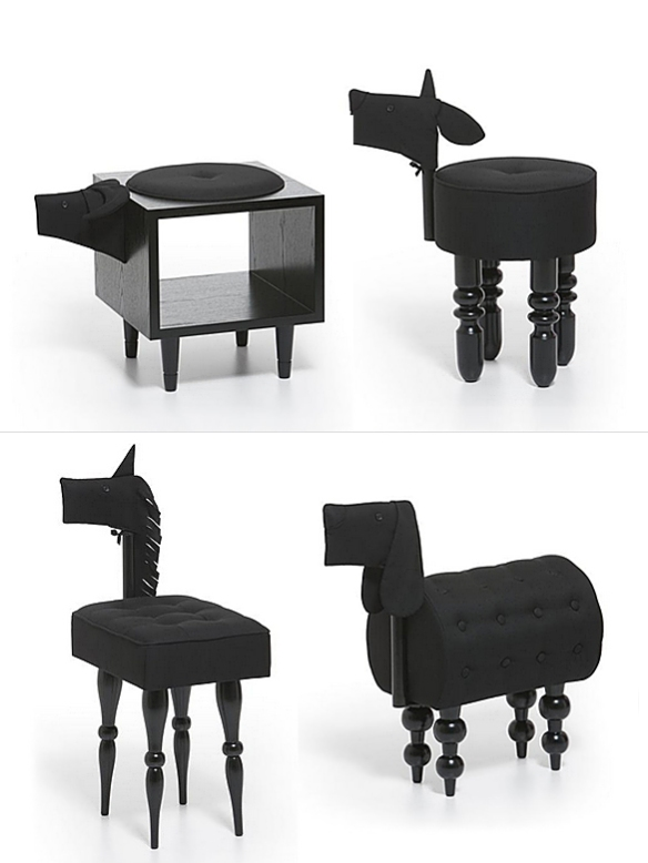 Animal Chairs by Biaugust Design