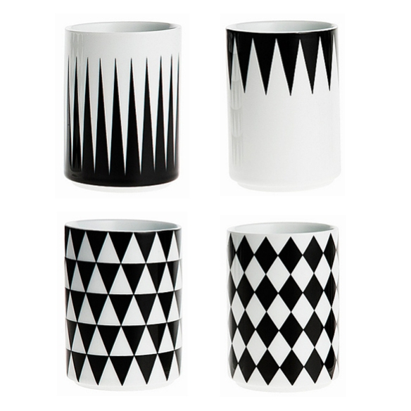 GEOMETRY Cups by Ferm Liiving