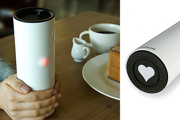 Heartea Interactive Cup by Sangmin Bae & ID+IM Design Lab for Nanum Project
