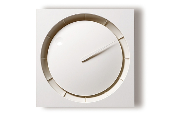 HOLA Minimalist Clock by Kazuo Kawasaki for Lemnos