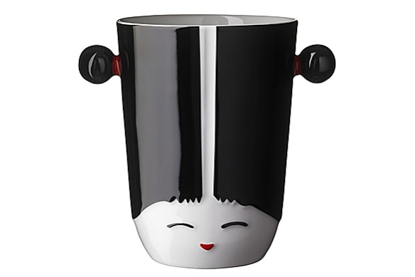Kokeshi Girl -- Thermal Cup by Pernille Vea for Qdo
