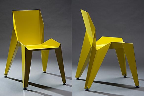 Edge Chair by Petr Novague