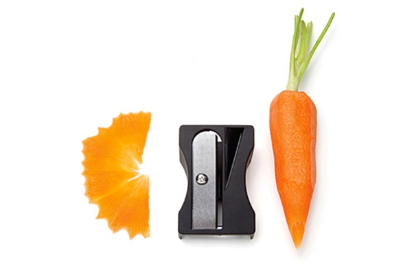Karoto Sharpener and Peeler by Avichai Tadmor for Monkey Business
