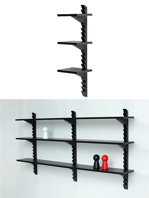 Totem Shelves by Broberg & Ridderstråle for Klong