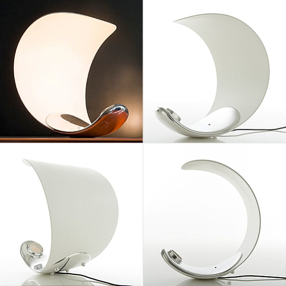 Curl Table Lamp by Sebastian Bergne for Luceplan