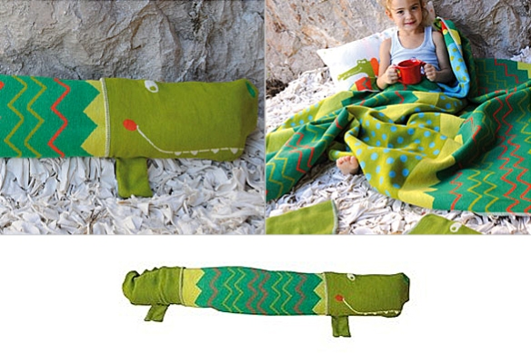 Kroko Blanket by David Fussenegger Textil