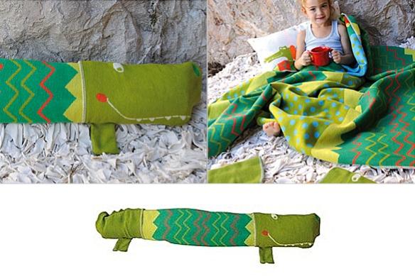 Kroko Blanket by David Fussenegger Textil