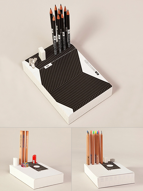 Memo Pad and Organizer by Pulp