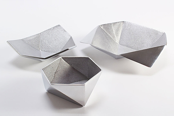 Origami Bowls by Ayush Kasliwal of AKMD