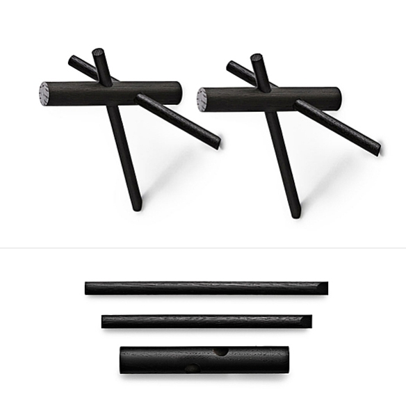 STICKS Hooks by Benoît Deneufbourg for Normann Copenhagen