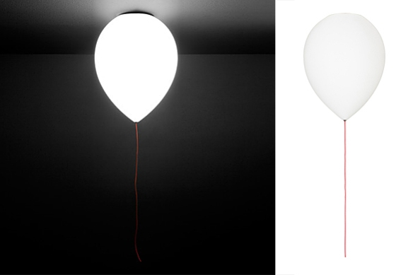 Balloon Light by CrousCalogero for Estiluz