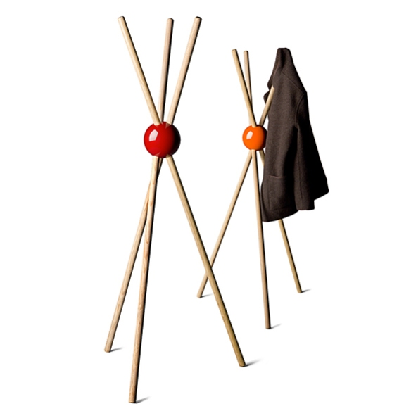 LOCK Coat Stand by Sylvain Willenz for Tamawa