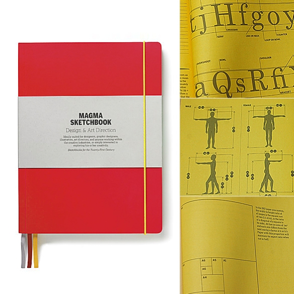 Magma Sketchbook -- Design & Art Direction by Matt Willey and Zoe Bather of Studio8