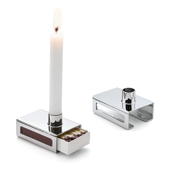 Matchbox Candleholder by Philippi