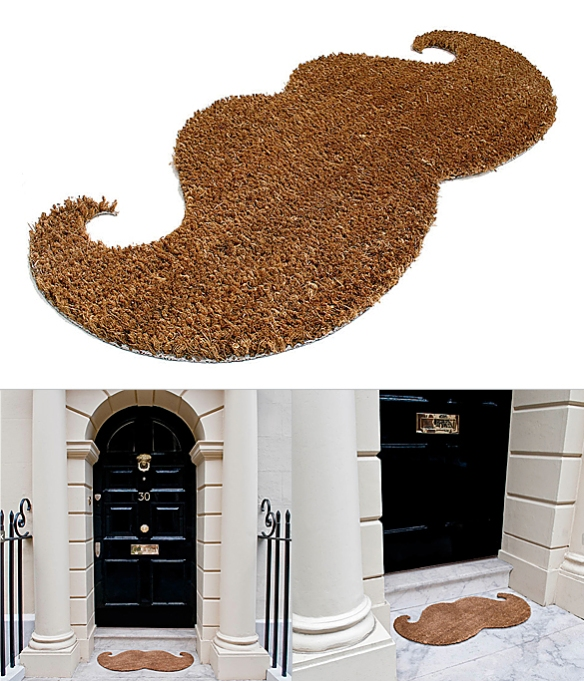 Moustache Doormat by John Caswell for Thabto